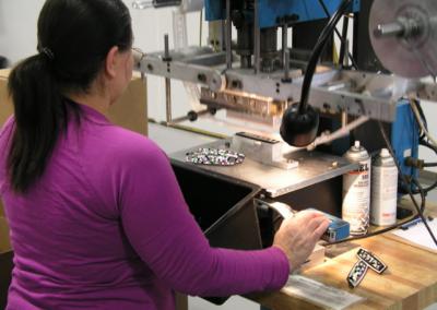 Hot Stamping - SMI Molding Inc